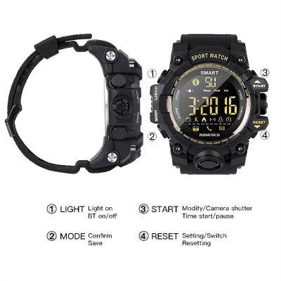 ساعت مچی دیجیتال هوشمند SPORTS مدل EX16S