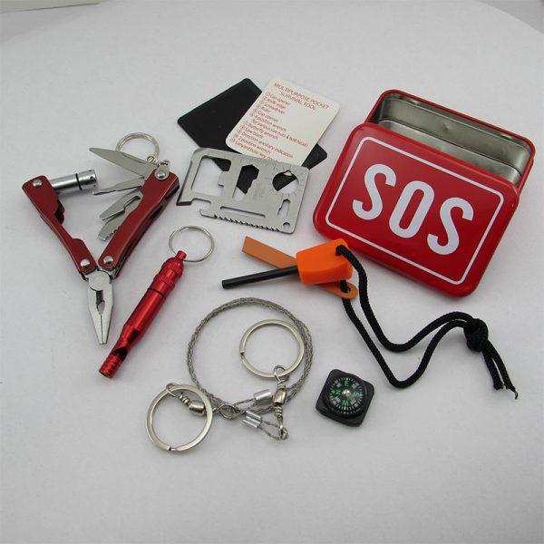 جعبه بقا کوهنوردی و کمپینگ /SOS