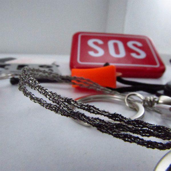 جعبه بقا کوهنوردی و کمپینگ. SOS