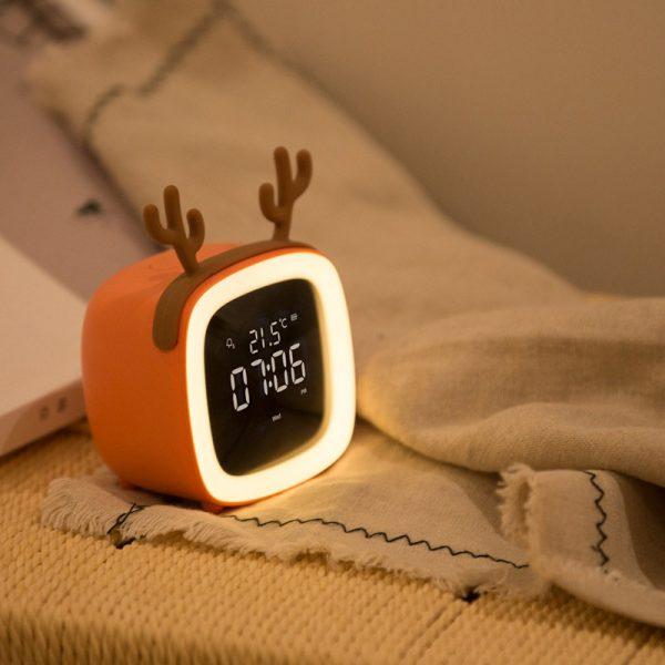 ساعت رومیزی فانتزی چراغ دار cute pet TV