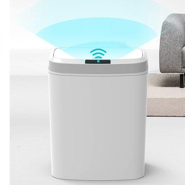 سطل زباله هوشمند سنسوردار دارای حسگر ویوک
