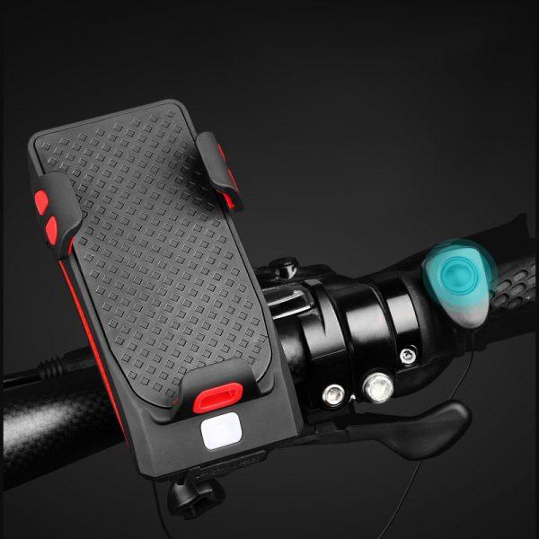 پایه نگهدارنده موبایل و چراغ قوه دوچرخه