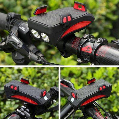 پایه نگهدارنده هولدر موبایل و چراغ قوه دوچرخه
