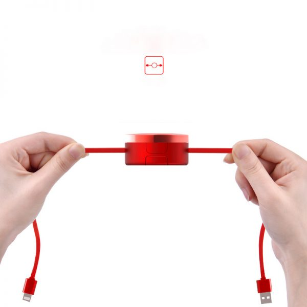 کابل شارژ سه سر OATSBASF 3IN1
