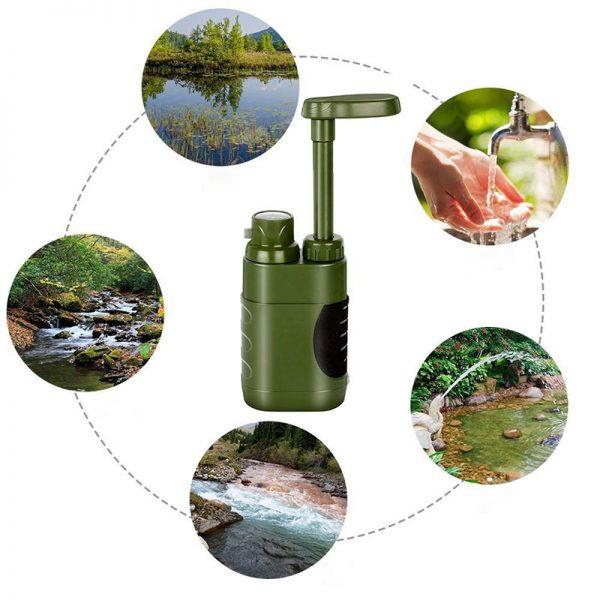 تصفیه کننده آب قابل حمل